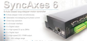 SyncAxes 6 – 6-Axis closed loop stepper motor controller